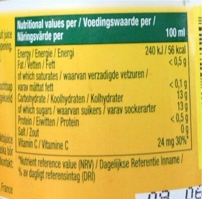Pago mangue - Διατροφικά στοιχεία