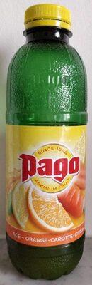 Pago Orange Carotte Citron - Product