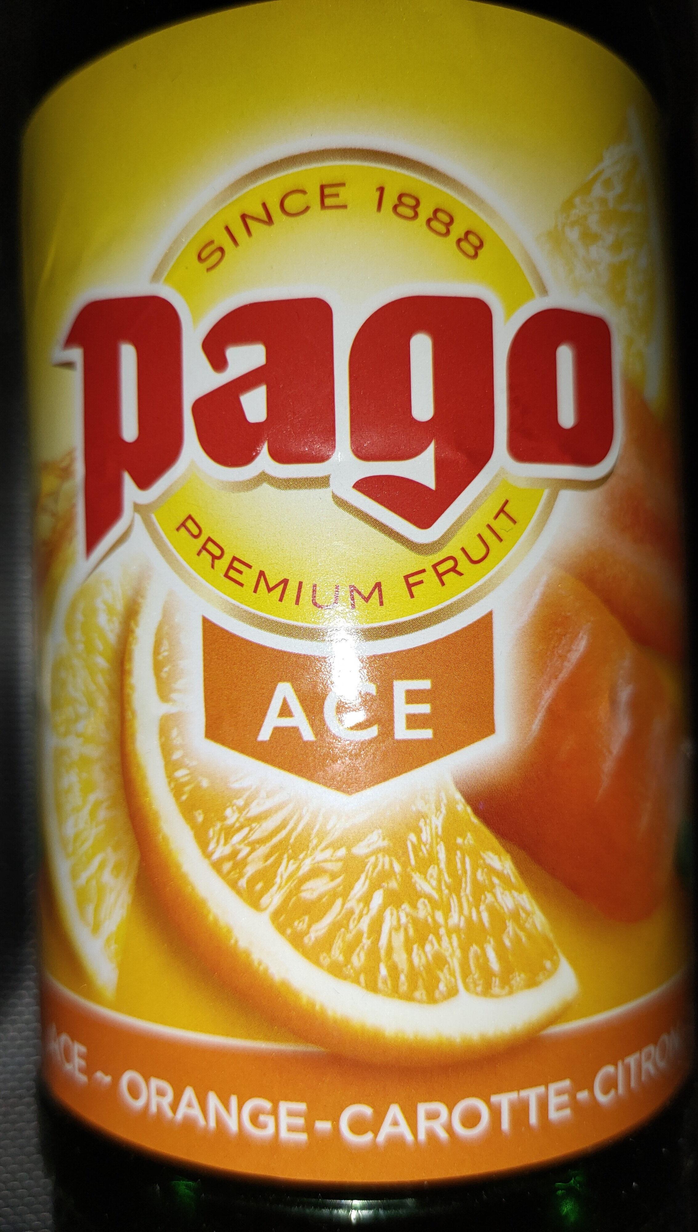 Pago Ace - Orange - Carotte - Citron - Product - fr