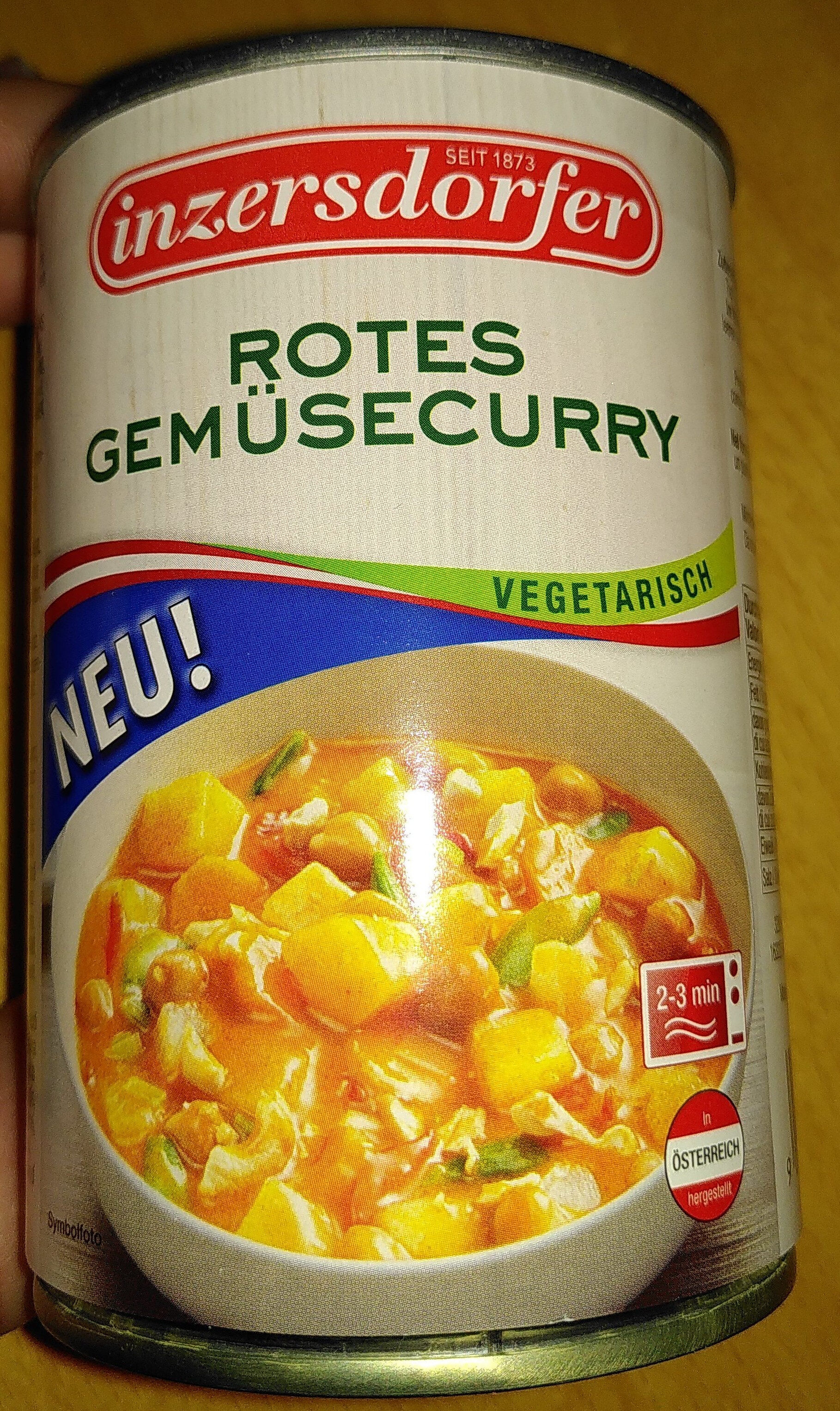 Rotes Gemüsecurry - Product - de