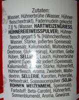 Kräftige Hühnersuppe - Ingredients - de