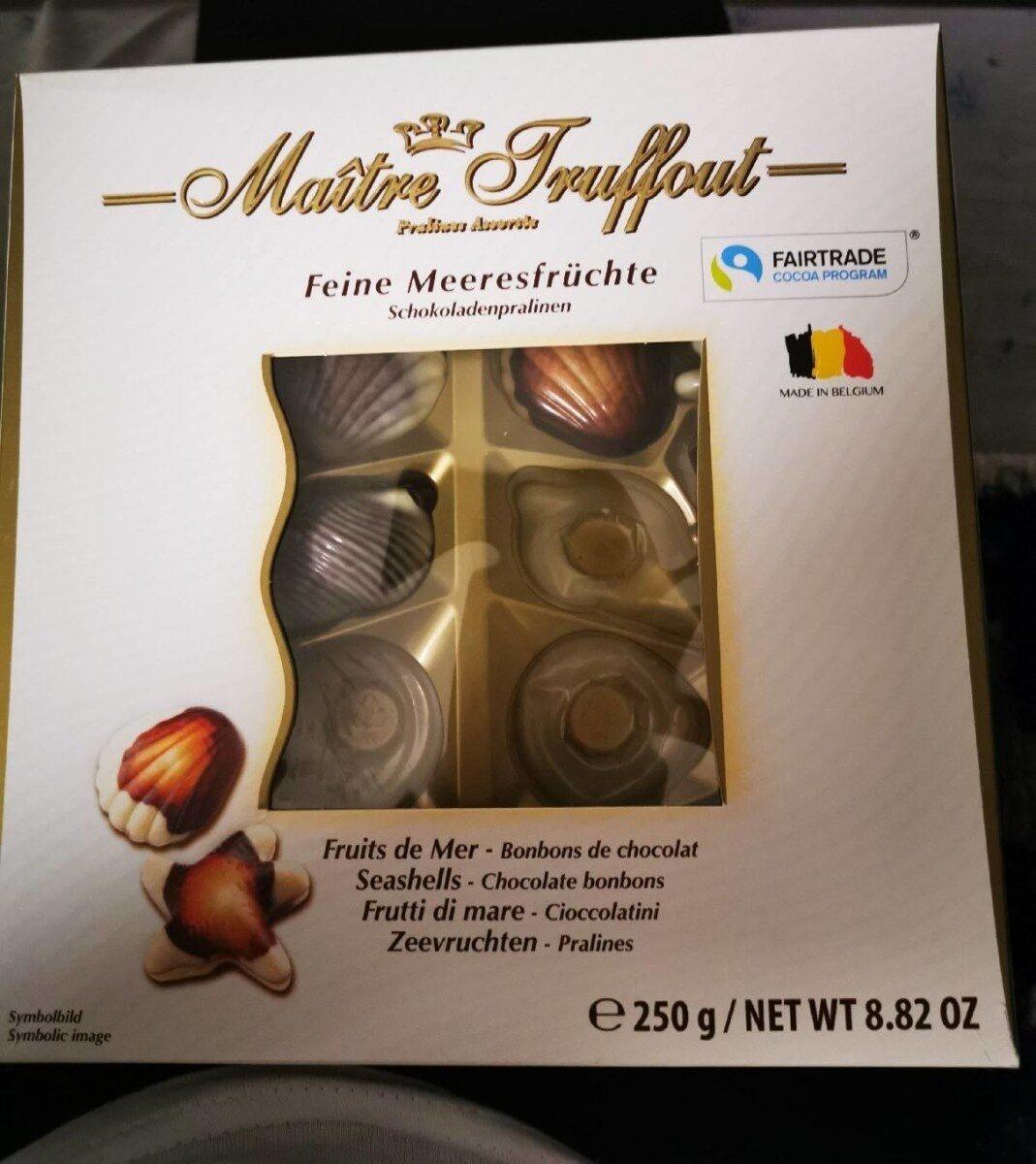 Feine Meeresfrüchte, Schokoladepralinen - Product