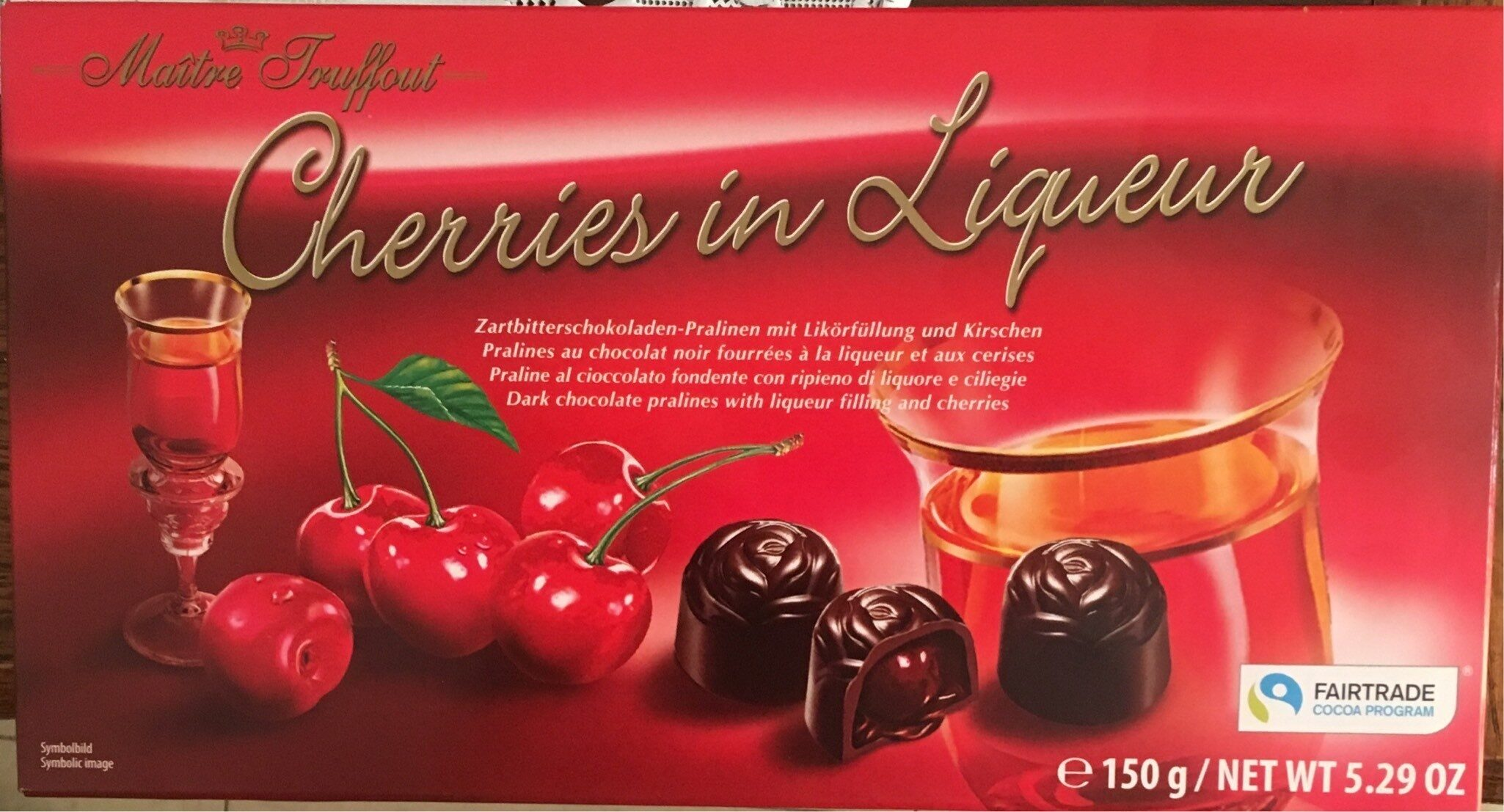 Cherries in Liqueur - Product - en