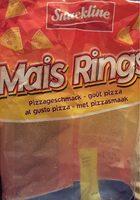 Mais Rings Mit Feinem Pizza-geschmack Im 125g Beutel Von Snackline - Product - fr