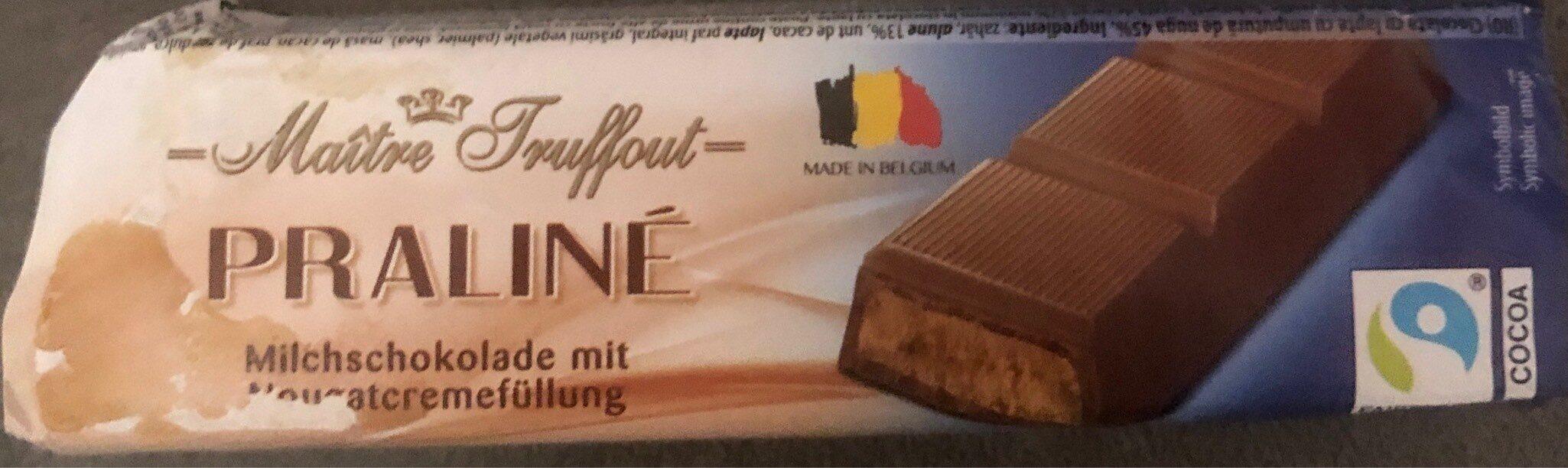 Pralinenriegel Milk In Der 75g Packung Von Maître Truffout - Produit - fr