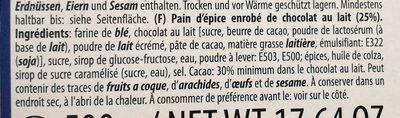 Schoko lebkuchen - Ingrediënten