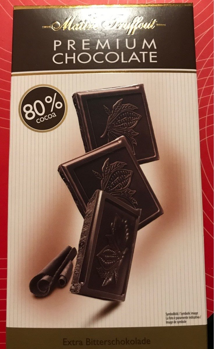 Chocolat noir extra 80% - Producte - fr