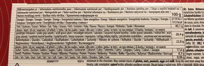 Chocolat noir extra 80% - Ingredients - fr