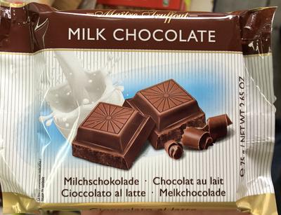 calorie Chocolat au lait
