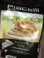 Biscotti fiori - Produit - fr