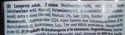 Laugenstangen Salz - Ingredients - de