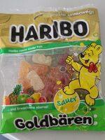 Haribo saure Goldbären - Prodotto - fr