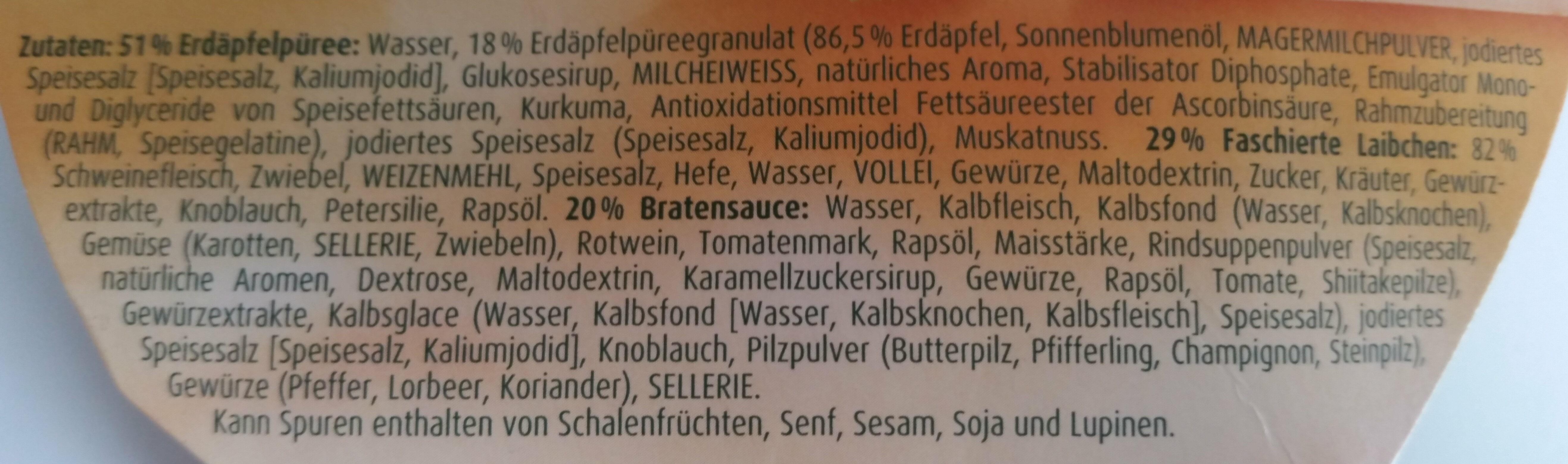 Faschierte Laibchen - Ingrédients