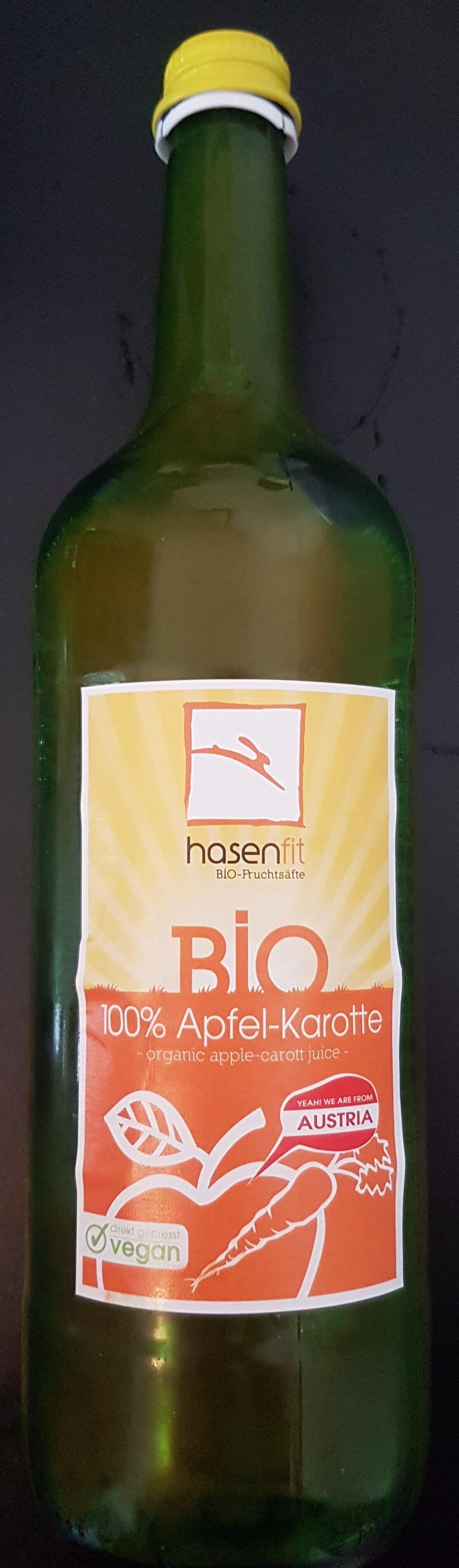 Bio Apfel- und Karottensaft naturtrüb - Product - en