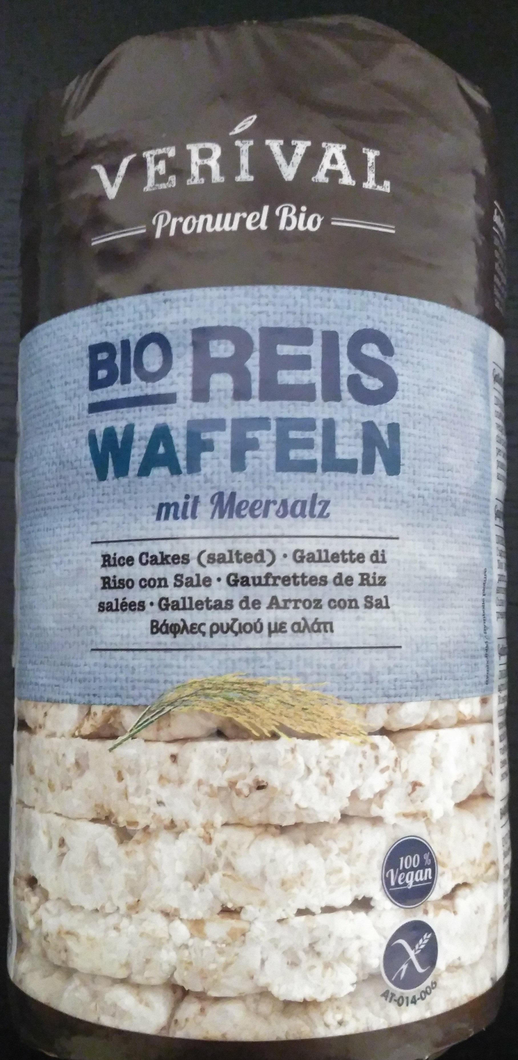 Bio Reiswaffeln, mit Meersalz - Product - de