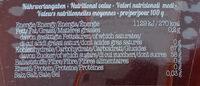 Bio Arhornsirup Grad A Mild - Nährwertangaben - de