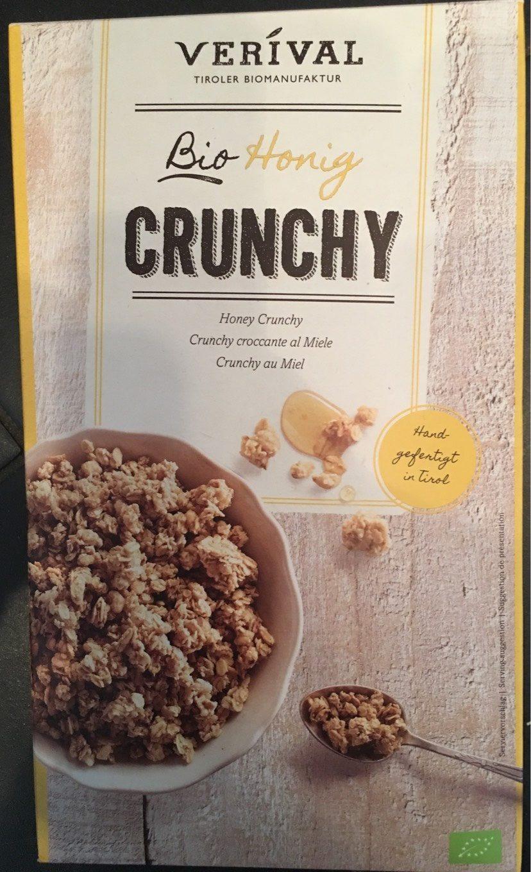 Muesli Crunchy Miel Bio - Información nutricional