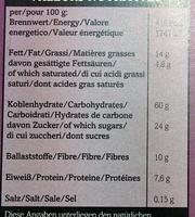 Bio-Moosber-Apfel Crunchy - Nutrition facts