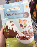 Céréales Bio Crousti'choco - Product