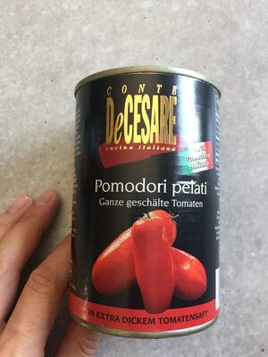 Ganze geschälte Tomaten - Produit - de
