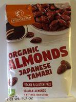 Organic Almonds japanese tamari - Producte