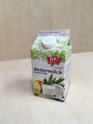 Buttermilch Ananas-Kokos - Product