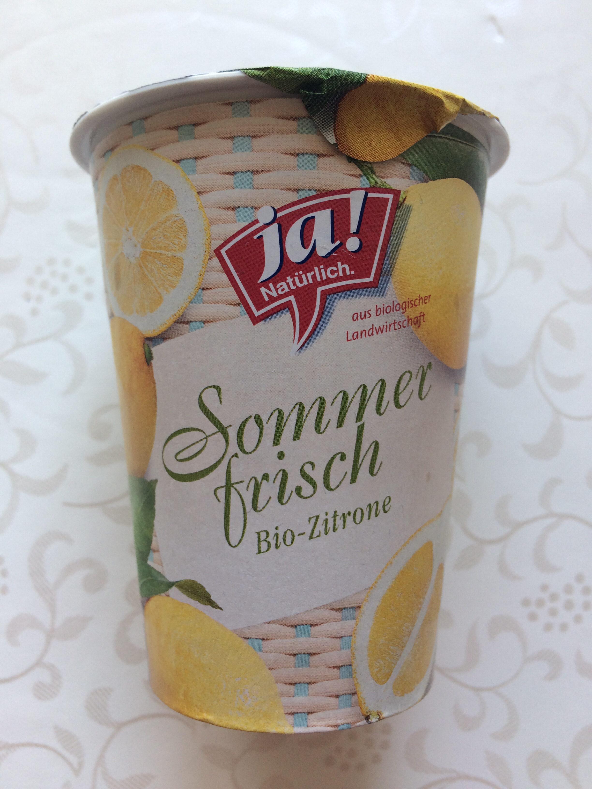 Sommerfrisch Bio-Zitrone - Product - de