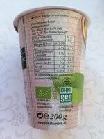 Sommerfrisch Bio-Maracuja - Nutrition facts - de