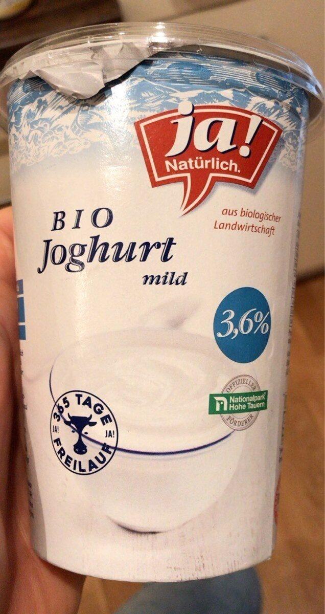 Bio Joghurt Mild 3,6% - Product - de