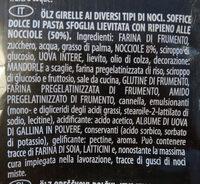 Nussschnecken - Ingredients - it