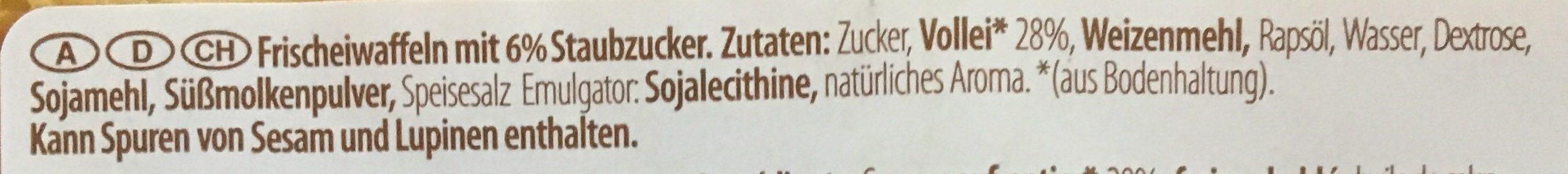 Frischeiwaffen - Ingredients
