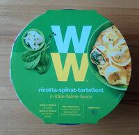Ricotta Spinat Tortelloni In Käse Sahne Sauce - Product