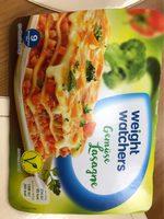 Weight Watchers Gut Aufgetischt Gemüse lasagne - Product - fr