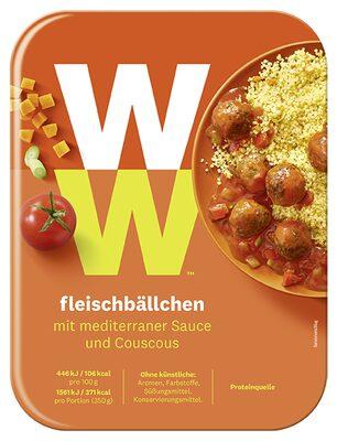 Boulettes de viande à la sauce méditerranéenne et couscous - 3