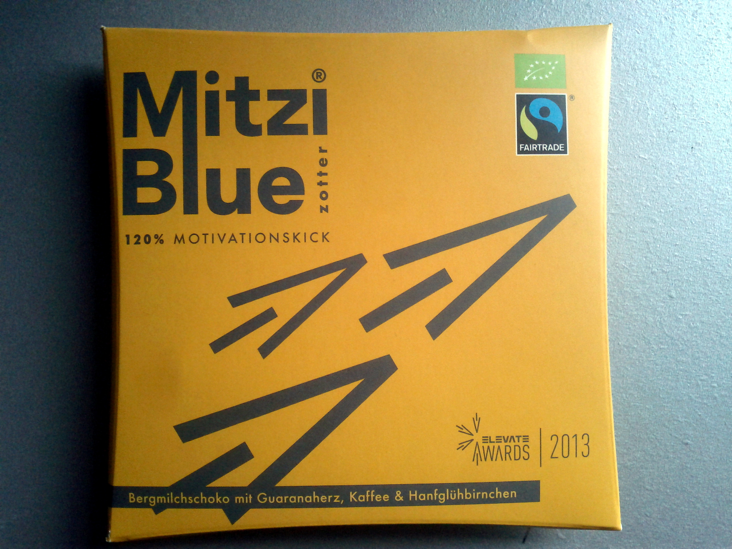 Zotter Mitzi Blue 120% Motivationskick - Product - de