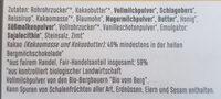 zotter Stress Stopper - Ingrédients - de