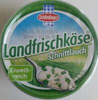 Landfrischkäse Schnittlauch - Produit