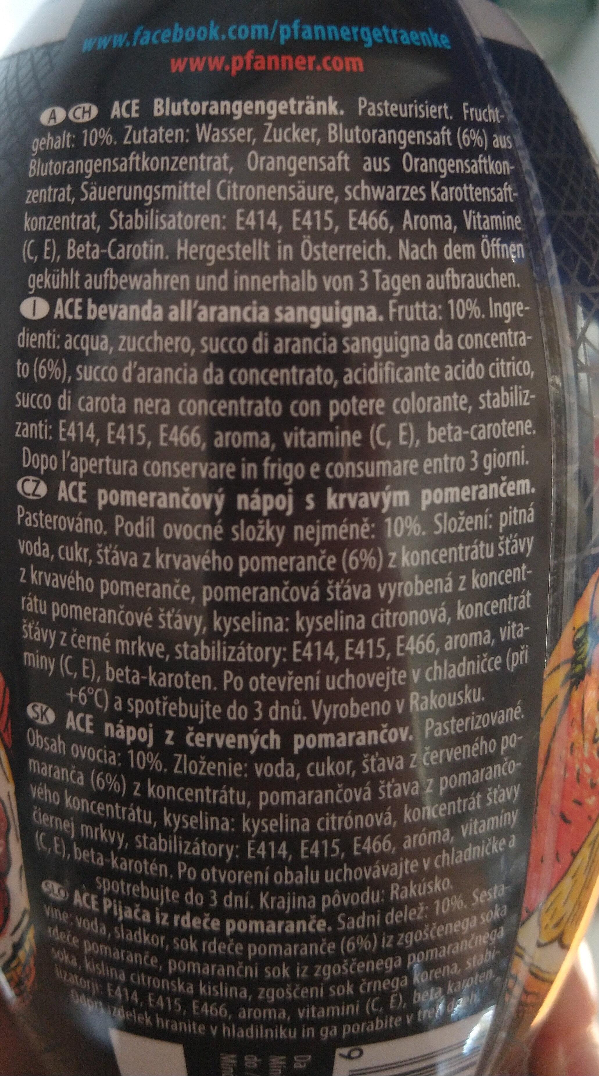 red orange - Ingredienti - it
