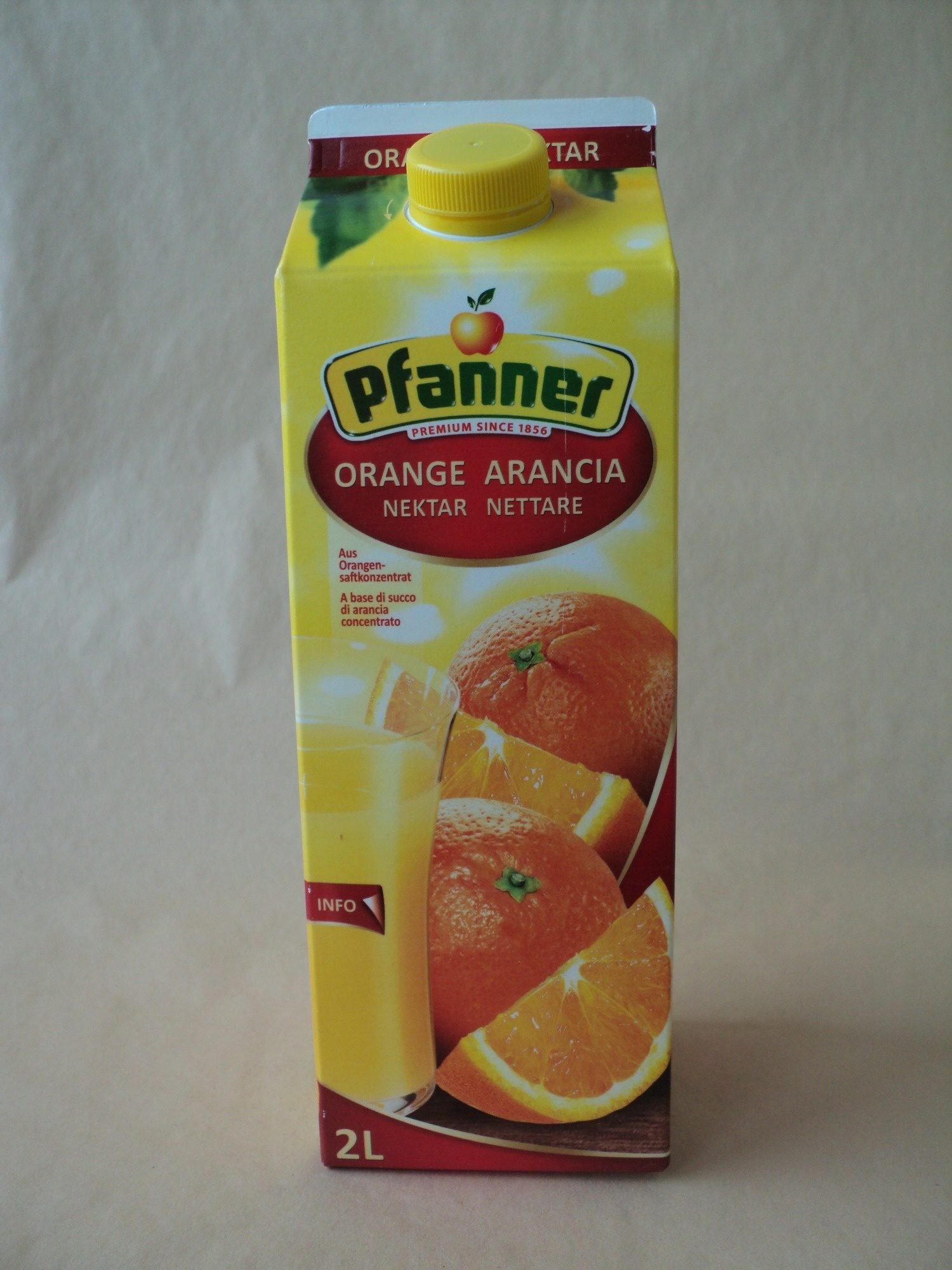 Orange nektar - Produit - ro