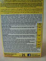 Orange nektar - Voedingswaarden - ro
