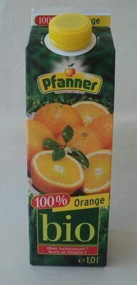 Pfanner Bio Orange 100% 1LTR - Produkt - fr