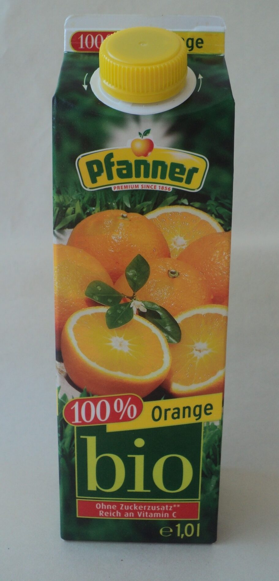 Pfanner Bio Orange 100% 1LTR - Product - fr