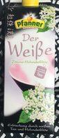 Der Weiße, Zitrone Holunderblüte - Produit - fr