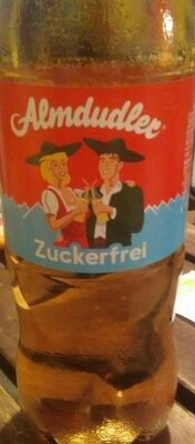 Almdudler Zuckerfrei - Prodotto - de