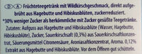 IceTea Wildkirsche - Ingredients