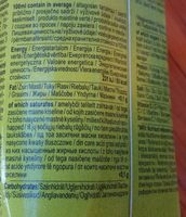 Happy Day Pfrirsich - Nutrition facts - sr