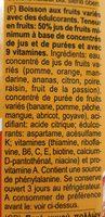 Bravo Multivitamin 1L 50% 12 - Ingrédients