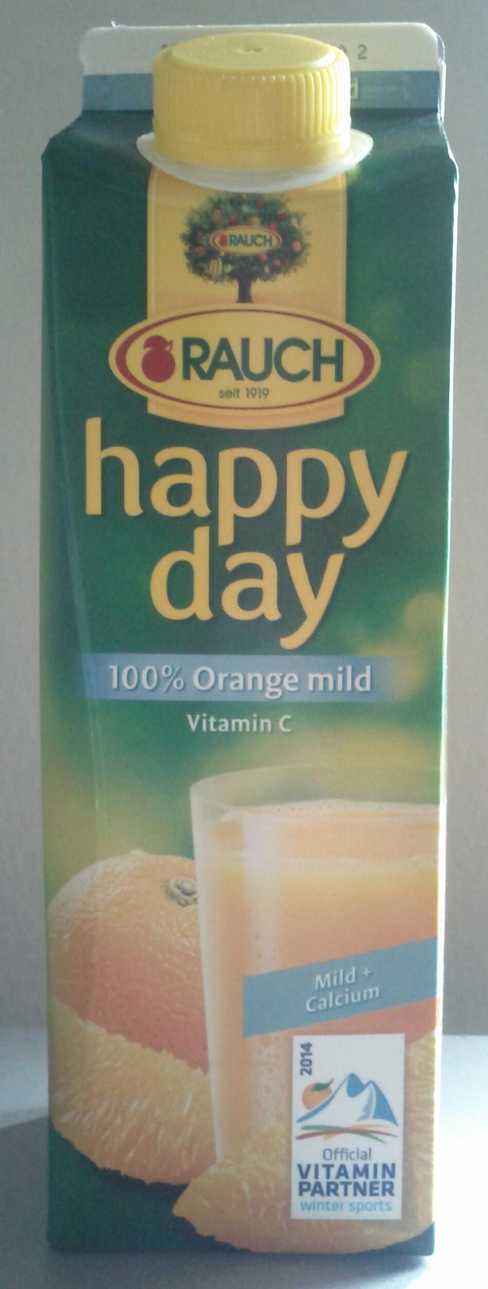 Happy day 100% Orange - Product