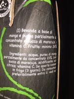 Premium mango - Ingredients