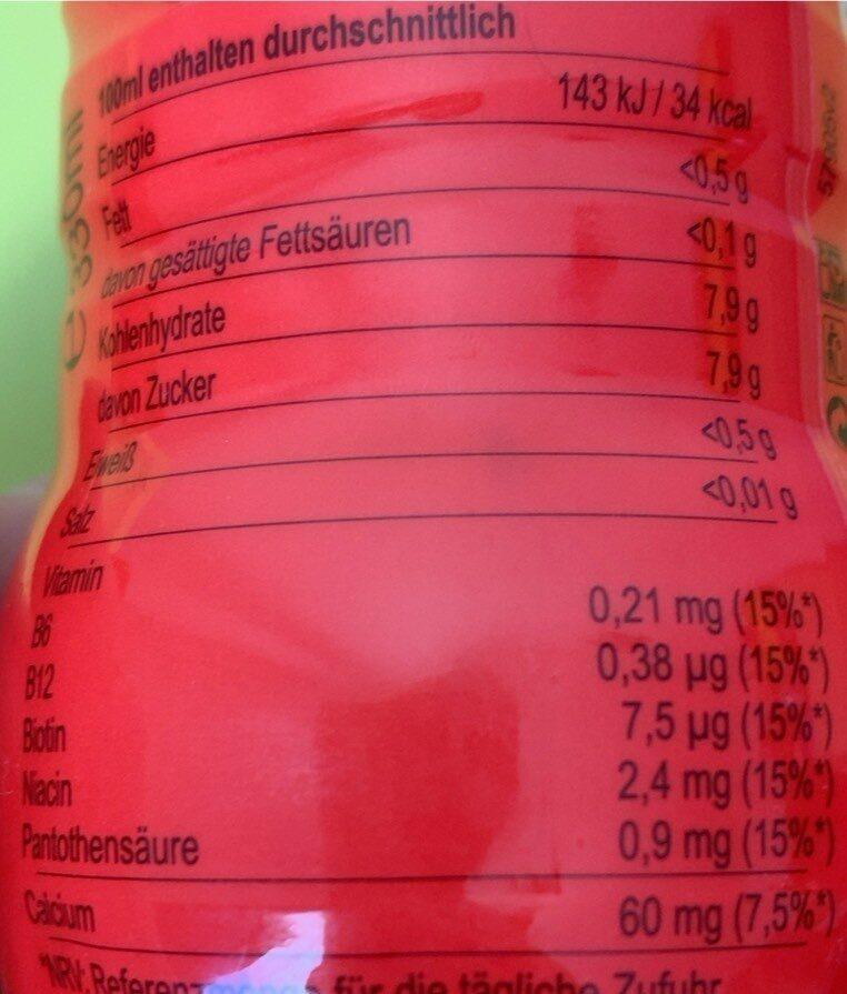 Yippy - Valori nutrizionali - de